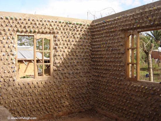 بازیافت زباله تا ساخت خانه ایی زیبا !!! عکس
